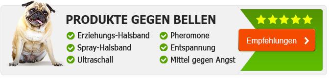 Produkte gegen Bellen